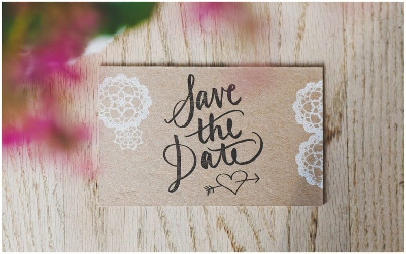 rencontre en ligne-save the date