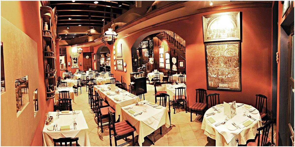restaurant romantique italien