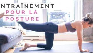 entrainement pour la posture