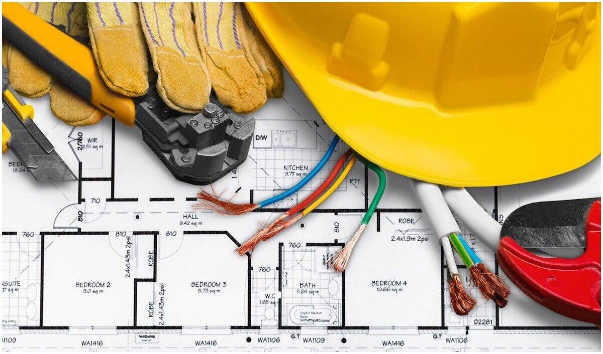 plans de rénovation d'électricité